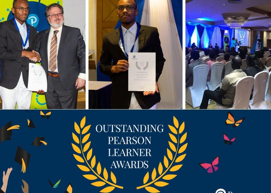Brookhurst's Simeu Nguedia Jnr Awarded Pearson's Outstanding Learners Award 2019