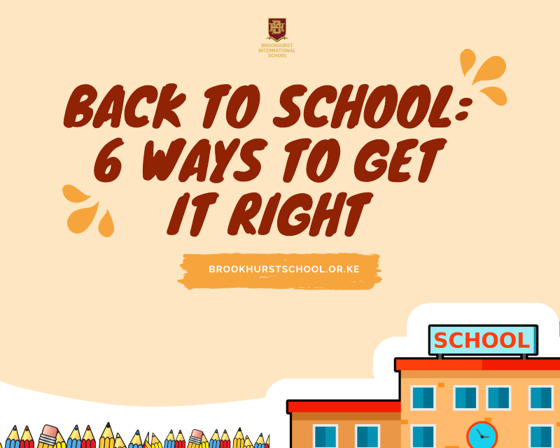 Back To School_ 6 Ways To Get It Right
